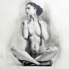 1st Body Dessin  by LYS                                                pencil on paper