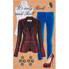 """""""It's only Rock and Roll"""" by julie-price-thiede on Polyvore"""