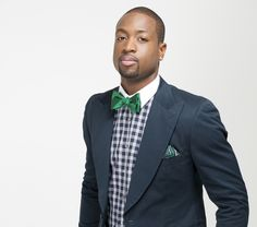 NBA star Dwyane Wade and The Tie Bar teamed up to design an exclusive collection that features 29 bowties, 15 neckties, and 15 pocket squares. It launches Nov. Daily Fashion, Fashion News, Mens Fashion, Michael Jackson Smile, Fast Workouts, Preppy Men, Dwyane Wade, Suit Shirts, Nba Stars