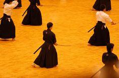 Aikido Sword Technique in Kyoto