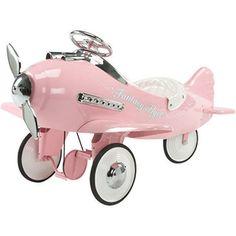 Pink Fantasy Flier Plane Baby Infant
