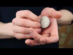 Learn Magic Tricks, Magic Tricks For Kids, Coin Tricks, Surrealism, Coins, Easy Magic, Places, Youtube, Hacks