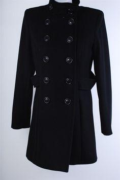 SINEQUANONE cappotto donna ultimo rimasto nero tg.44 super sconto #fashion #Moda #urbanstyle #street #style #coat