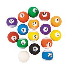 Billiard Bouncing Balls - OrientalTrading.com