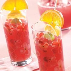 Orange Cranberry Punch - sounds delicious!