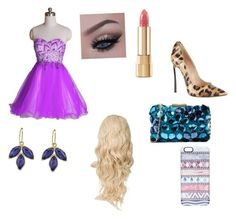 """""""Rose party outfit!"""" by eviehartleytull on Polyvore featuring Casadei, Love Moschino, Casetify and Dolce&Gabbana"""