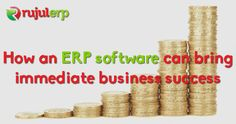 Are you aware that an #ERP software can boost your business success? Here are few ways in which an ERP #software can bring immediate business success.