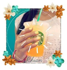 """""""Summer Starbucks"""" by flroasburn ❤ liked on Polyvore featuring Clips"""