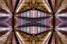 """Illusion II (new upload) - Pinned by Mak Khalaf Since 3 days now nonstop rain gray and dark so I once again feel like a little """"Play"""" with my pictures. / Seit 3 Tagen nun nonstop Regen grau und dunkel. So hatte ich mal wieder Lust ein wenig mit meinen Bildern zu """"spielen""""(2. Upload ! First upload was damaged!) Abstract HafenHafencityabstractarchitectureartbuildingcitycolorgrafischgraphicsillusionkaleidoskoplightlilalinesnightport of Hamburgpurplesubwayundergroundurban by SaWagner1"""