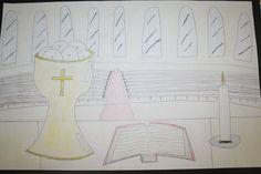 Catholic Schools Week Poster Contest Winner - 2016 Catholic Schools Week, Art Programs, Poster, Home Decor, Interior Design, Home Interior Design, Movie Posters, Home Decoration, Decoration Home