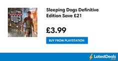 Sleeping Dogs Definitive Edition Save £21, £3.99 at PlayStation