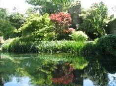 Ninfa Gardens south of Rome