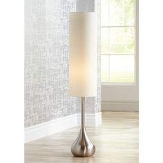 "Possini Euro Moderne Steel Droplet 62"" High Floor Lamp - #79456   Lamps Plus"