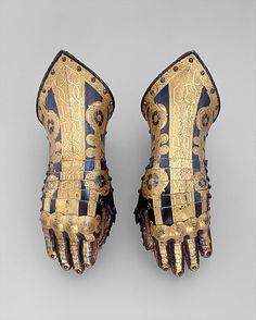 The Metropolitan Museum of Art - Pair of Gauntlets Belonging to the Armor of Duke Friedrich Ulrich of Brunswick (1591–1634)