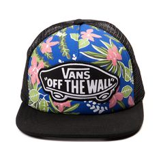 ba4e48e846e94 Vans Beach Girl Floral Trucker Hat