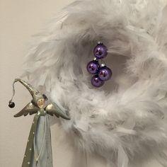 Advent in ostrich feather Ostrich Feathers, Advent, Decoration, Decorating, Dekorasyon, Deko, Dekoration, Decorations, The Birdcage