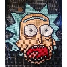 Rick Sanchez (Rick and Morty) perler beads by paul017