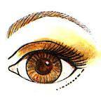 Suggested Eye Color Makeup for Redheads--Eye Red Hair Brown Eyes, Dark Green Eyes, Makeup For Brown Eyes, Redhead Makeup, Brunette Makeup, Teal And Gold, Purple Teal, Cool Eyes, Amazing Eyes