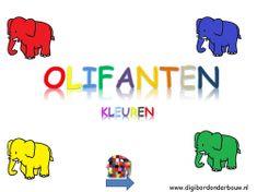 Digibordles over kleuren. http://digibordonderbouw.nl/index.php/themas/dieren/olifantendigibordlessen