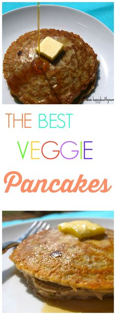 These Veggie Pancakes have 3 cups of shredded vegetables! They taste like traditional pancakes but with a big boost of nutrition from all those extra veggies! My kids lOVE those and I love getting mor (Hidden Vegetable Recipes) Veggie Recipes, Baby Food Recipes, Snack Recipes, Cooking Recipes, Hidden Vegetable Recipes, Toddler Recipes, Veggie Meals, Recipes Dinner, Free Recipes