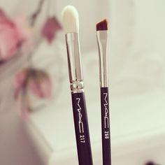 Mac brushes #mac #makeup