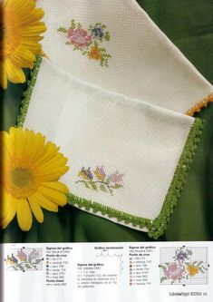 View album on Yandex. Cross Stitch Borders, Floral Embroidery, Album, Yandex Disk, Ideas, Dots, Home, Miniatures, Flower Embroidery