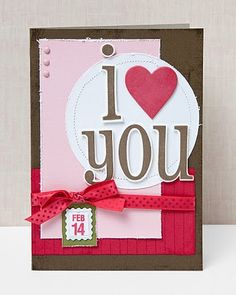 A link to great Valentine's Day card ideas from #CTMH.