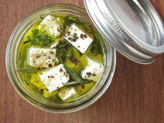 Herb Marinated Feta Recipe on Yummly
