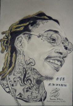 Wiz Khalifa By. PequeñoBless
