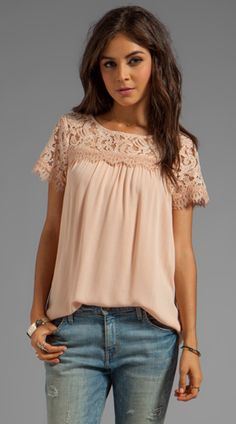 blush blouse. so soft & pretty!