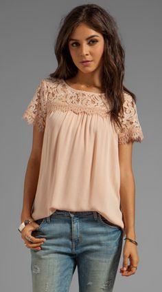 blush blouse. so soft & pretty!