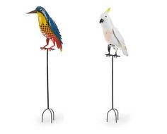 Metal Garden Bird Figurines