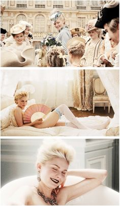 Would totally love to be Marie Antoinette and Sofia coppala made it look so perfectly lavish