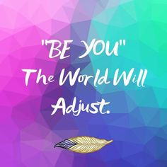 Monday Thought 💭 'Be You, The World Will Adjust'  #mondaymotivation #motivationalquotes #quotes #beyourself #betrue Monday Motivation, Motivationalquotes, Self, Thoughts, World, Artwork, Movies, Movie Posters, Instagram