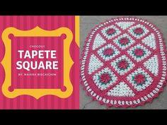 Tapete Square parte 1 (Meio square e square com flor) - YouTube