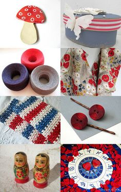RED by Shelley Noe on Etsy--Pinned with TreasuryPin.com