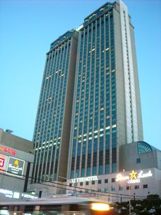 Busan Lotte Hotel Busan Korea, Skyscraper, Multi Story Building, Skyscrapers