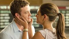 Justin Timberlake and Mila Kunis in Friends with Benefits.