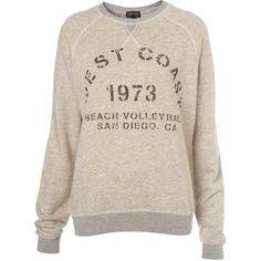 Worn Print Sweatshirt
