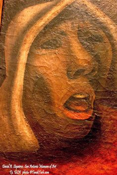 """The Cry""/""El Grito"" David Alfaro Siqueiros - San Antonio Museum of Art"