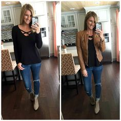 Shop My Closet // Weekly Outfits, Sales, Links And More! - Living in Yellow Sexy Winter Outfits, Fall Outfits, Casual Outfits, Winter Clothes, Weekly Outfits, Mom Outfits, Cute Outfits, Hostess Outfits, Outfits For Mexico