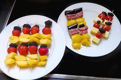 Fußball-Snacks in schwarz-rot-gold - süß und herzhaft