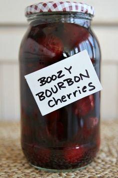Bourbon Cherries Recipe - RecipeGirl.com