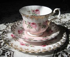 Royal Albert Bridesmaid Trio