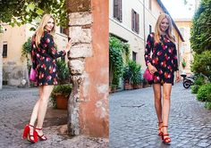 Get this look: http://lb.nu/look/8427045  More looks by Eleonora: http://lb.nu/thefashionscreen  Items in this look:  Anima Gemella Mini Dress   #casual #chic #street