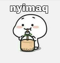 Cute and Funny Quby is waiting for you 🥰🥰🥰. Cute Bear Drawings, Cute Little Drawings, Cute Cartoon Drawings, Cartoon Jokes, Cute Cartoon Images, Cartoon Pics, Cute Cartoon Wallpapers, Cute Love Memes, Cute Love Pictures