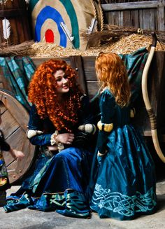 Merida and mini Merida