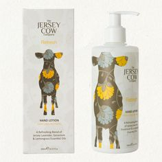 JERSEY COW REFRESH HAND LOTION