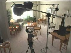 lighting setup for 3 cams, 2 shot interview