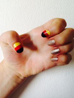 Team Germany nails for Euro Cup 2016 #diemannschaft #deutschland